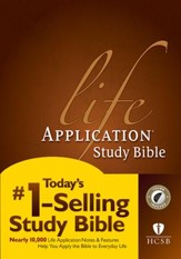 HCSB Life Application Study Bible indexed - Slightly Imperfect