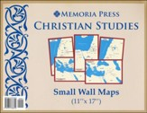 Christian Studies, Small Wall Maps,  5 Maps