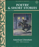 Poetry & Short Stories: American Literature Text, Grade 8