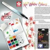 Koi Water Colors Field Box (Set of 12 Colors)