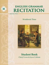 English Grammar Recitation Workbook  Three, Student Book