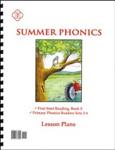Summer Phonics Lesson Plans