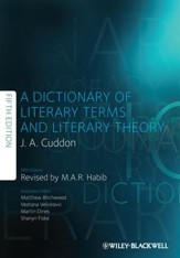 Dictionary of Literary Terms and  Literary Theory - eBook