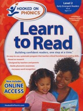 Hooked on Phonics Learn to Read - Level 2: Early Emergent Readers (Pre-K | Ages 3-4)