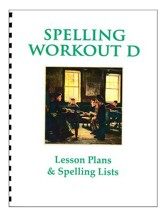 Spelling Workout D Lesson Plans