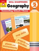Skill Sharpeners: Geography, Grade 2