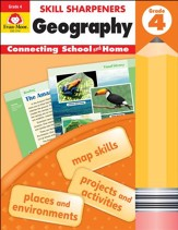 Skill Sharpeners: Geography, Grade 4