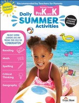 Daily Summer Activities, Moving from  Preschool to Kindergarten (2018 Revision)