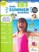 Daily Summer Activites, Moving From  Grades 1 to 2 (2018 Revision)