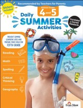 Daily Summer Activities, Moving From Grades 4 to 5 (2018 Revision)