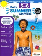 Daily Summer Activities, Moving From Grades 5 to 6 (2018 Revision)