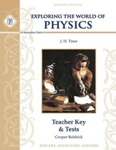 Exploring the World of Physics Teacher Key & Tests, Second Edition