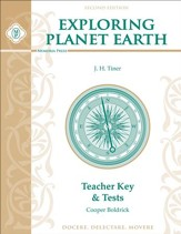 Exploring Planet Earth Teacher Key & Tests, Second Edition