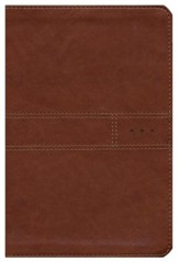 NIV Every Man's Bible Journeyman Edition, Leatherlike