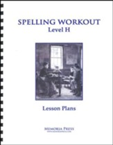 Spelling Workout H Lesson Plans