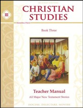 Christian Studies 3 Teacher's Manual  (2nd Edition)