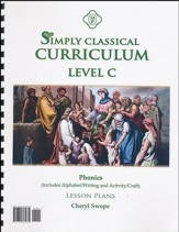 Simply Classical Level C Phonics Lesson Plans