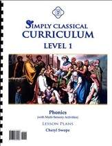 Simply Classical Level 1 Phonics Lesson Plans