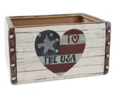 I Love USA Ceramic Drawer