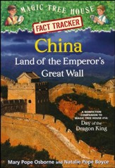 Magic Tree House Fact Tracker #31: China: Land of the Emperor's Great Wall: A Nonfiction Companion to Magic Tree House #14: Day of the Dragon King