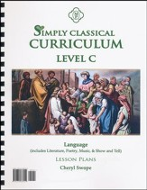 Simply Classical Level C Language Lesson Plans