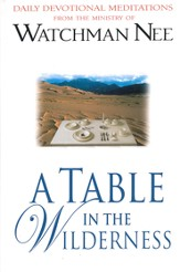 A Table in the Wilderness - eBook