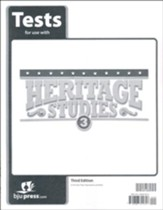 Heritage Studies 3 Tests (3rd Edition)