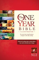 NLT One Year Bible Illustrated - Slightly Imperfect