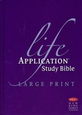 NKJV Life Application Study Bible Large Print Indexed Hardcover