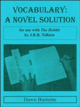 Vocabulary: A Novel Solution for use with The Hobbit