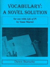 Vocabulary: A Novel Solution for use  with Life of Pi