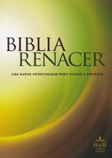 RVR Biblia Renacer, softcover, The Life Recovery Bible  - Slightly Imperfect