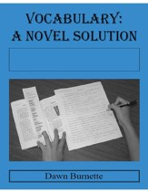 Vocabulary: A Novel Solution for use with The True Confessions of Charlotte Doyle