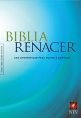 Biblia Renacer NTV, Enc. Dura  (NTV Life Recovery Bible, Hardcover) - Slightly Imperfect