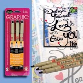 Micron Graphic Bible Journaling Pen Set, Pack of 3