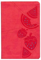 NKJV Girls Single Column Fruit Cover Bible