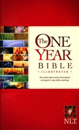 NLT One Year Bible Illustrated