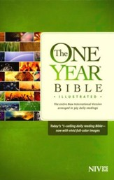 NIV One Year Bible Illustrated - Slightly Imperfect