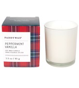 Glass Candle, Peppermint Vanilla, 3 ounce