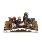 For Unto Us Nativity Figurine