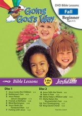 Going God's Way Beginner (ages 4 & 5) Bible Lesson DVD