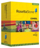 Rosetta Stone Spanish (Spain) Level 1 with Audio Companion Homeschool Edition, Version 3