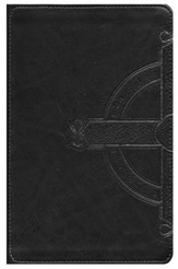 NLT Teen Life Application Study Bible: Black Celtic Cross Leatherlike