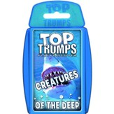 Top Trumps Activity Book: Creatures  of the Deep