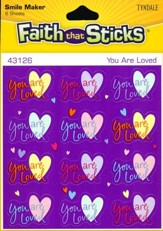 Stickers: You Are Loved