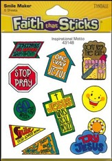Stickers: Inspirational Motto