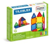 Magformers Rainbow Tiles, 14 Piece Set