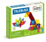 Magformers Rainbow Tiles, 60 Piece Set