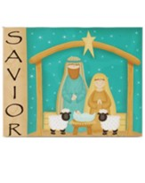 Savior Nativity Plaque