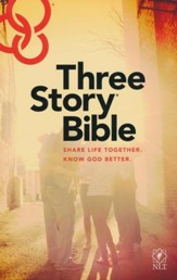 NLT: Three Story Bible - Slightly  Imperfect